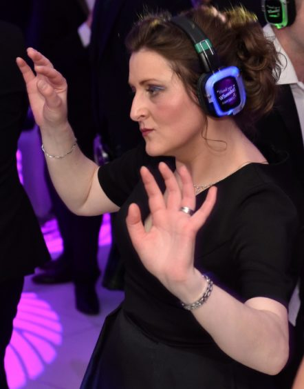The Silent Disco  Picture by COLIN RENNIE