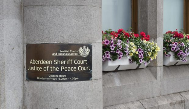 Aberdeen Sheriff Court.