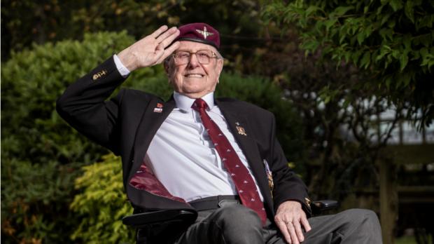 Second War World veteran Sandy Cortmann