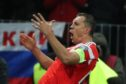 Artem Dzyuba struck twice on a memorable night for Russia.