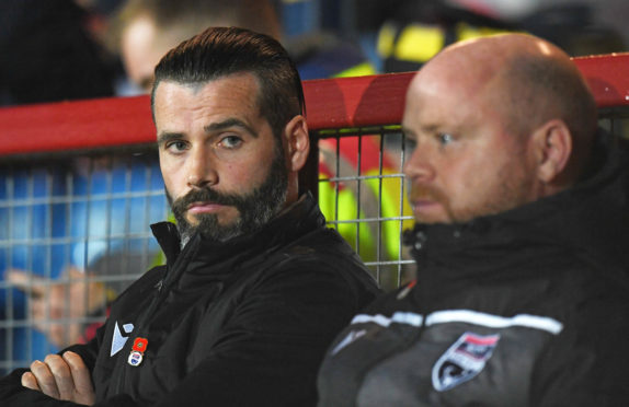 Ross County co-managers Stuart Kettlewell, left, and Steven Ferguson