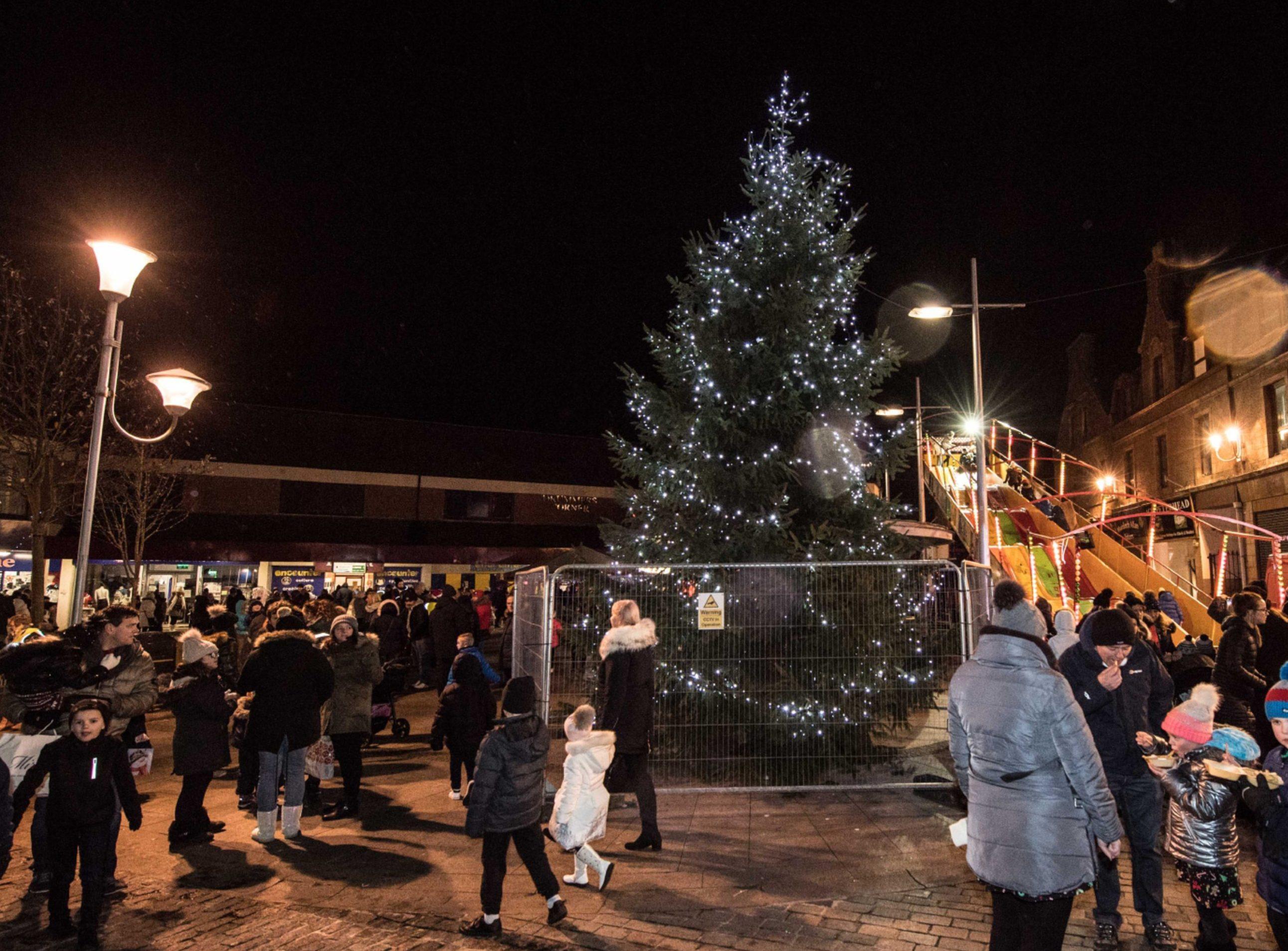 Peterhead Christmas lights switch-on