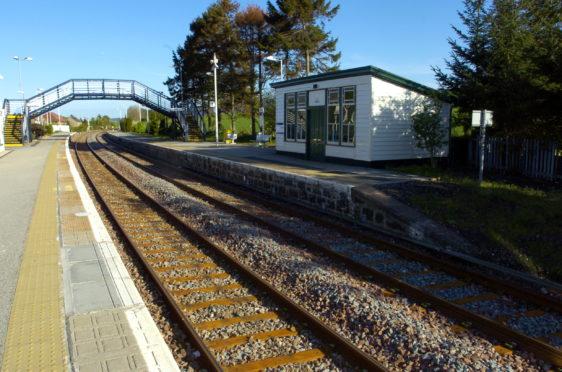 Insch Station