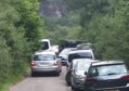 Parking problems at Glen Nevis.
