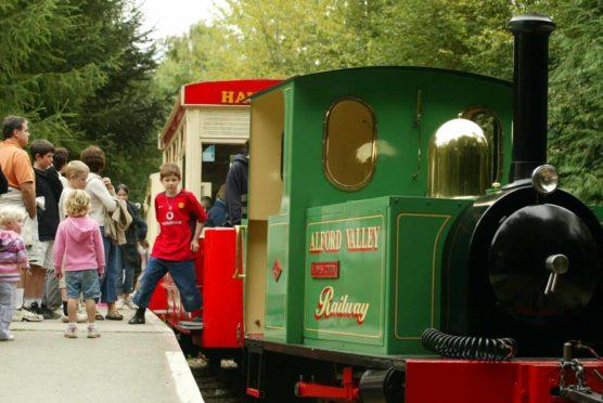 The railway in 2003