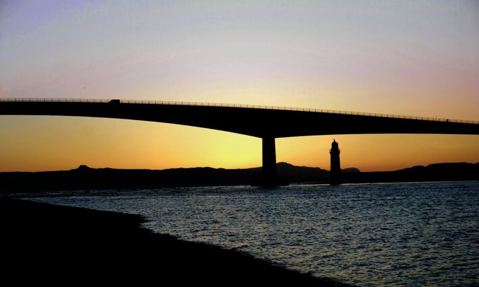 The Skye Bridge.