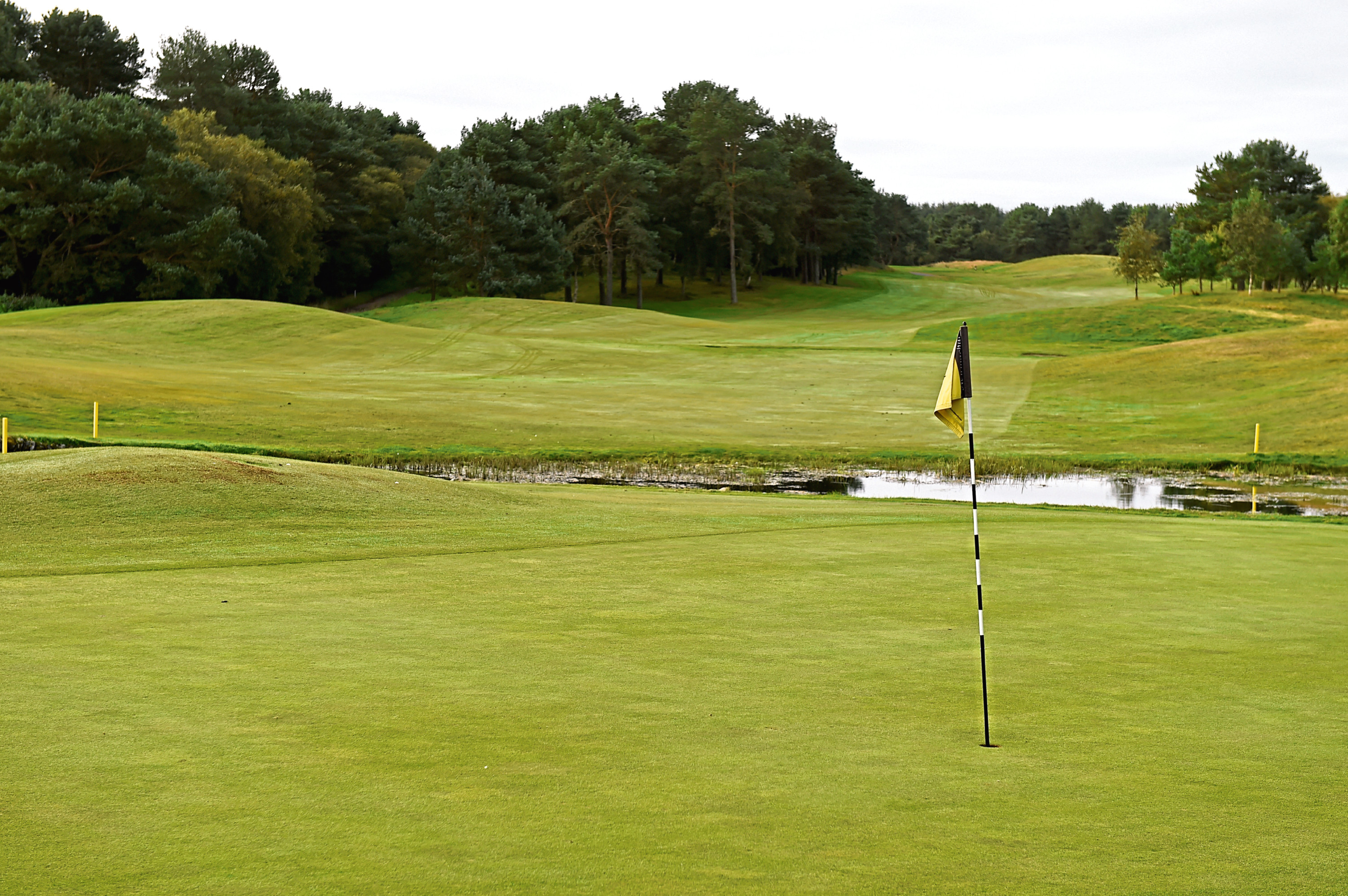 Newmachar Golf Club   Picture by KENNY ELRICK