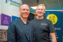Jamie Andrew (L) and Andrew Burnett (R), Operations Director, Elevator UK