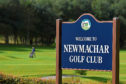 Locator of Newmachar Golf Club, Swailend, Newmachar.    Picture by KENNY ELRICK     02/10/2016
