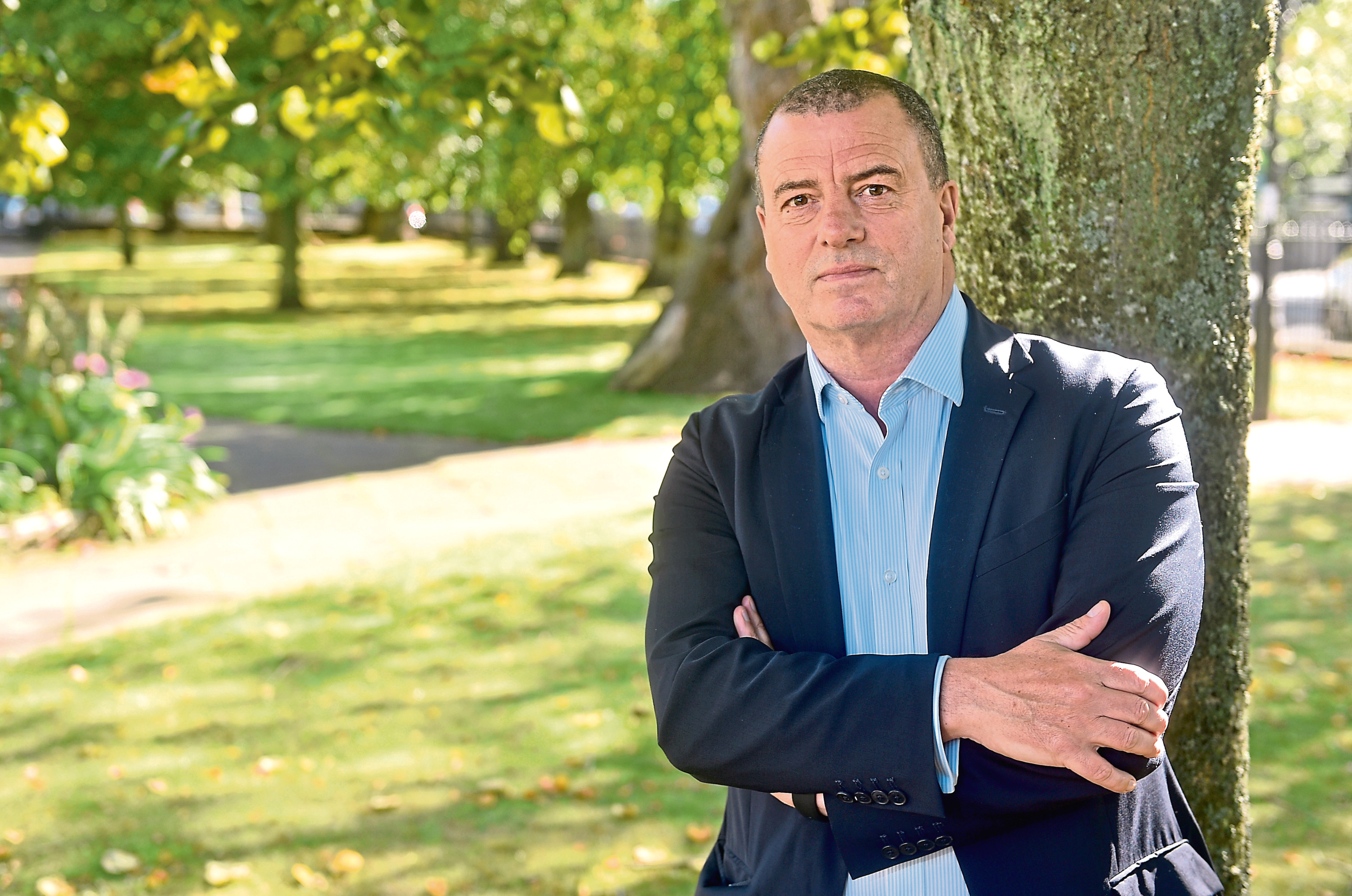 Pictured is Scottish Enterprise Chief Executive Steve Dunlop in Queen's Terrace Gardens, Aberdeen Picture by DARRELL BENNS     Pictured on 19/09/2019 CR0014300