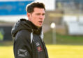 Buckie Thistle manager Graeme Stewart, his staff and players are furloughed. Picture by Kenny Elrick