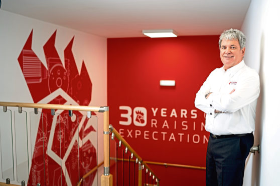 Red Rooster Lifting managing director Bil Aitken