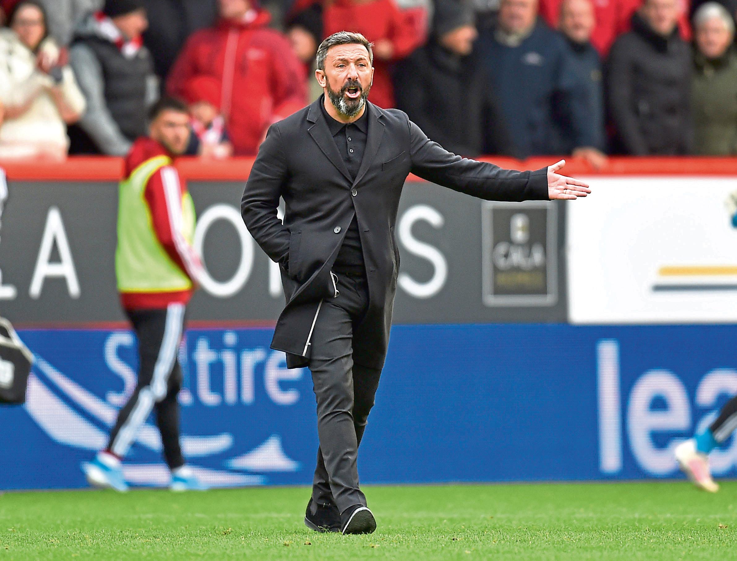 Aberdeen manager Derek McInnes  (Photo by Rob Casey / SNS Group)
