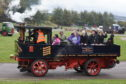 One of the steam vehicles on display.