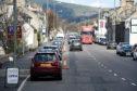 The High Street in Aberlour.