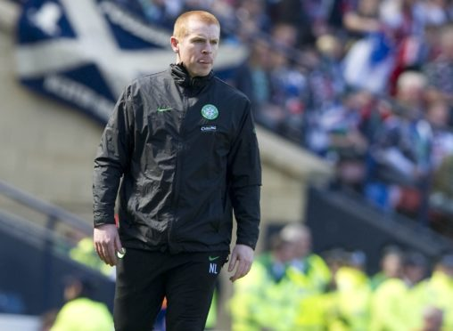 Neil Lennon was in charge when Celtic were defeated by Ross County in 2010.
