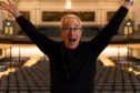 Ben Elton opened the festival at the Music Hall