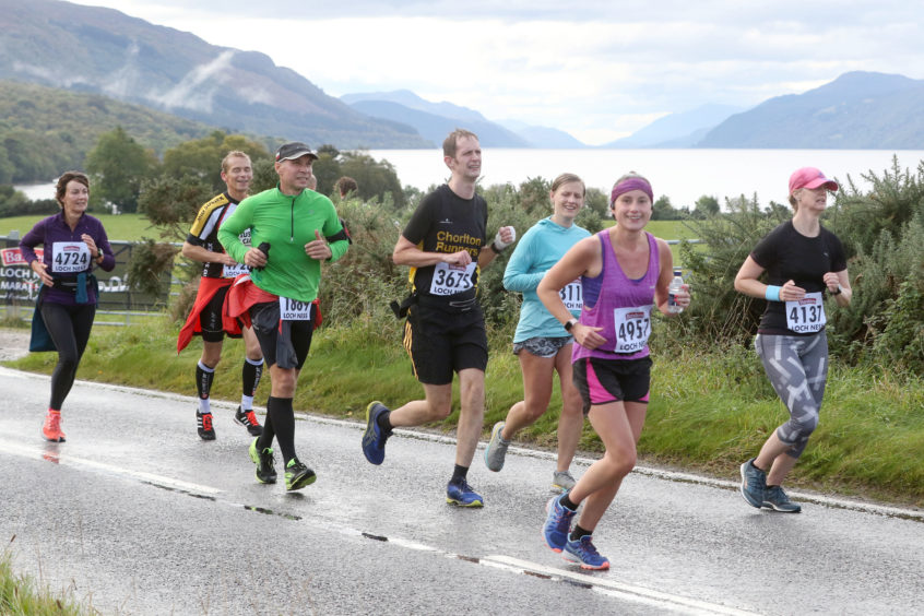 Baxters Loch Ness Marathon 2019. Credit: Andrew Smith