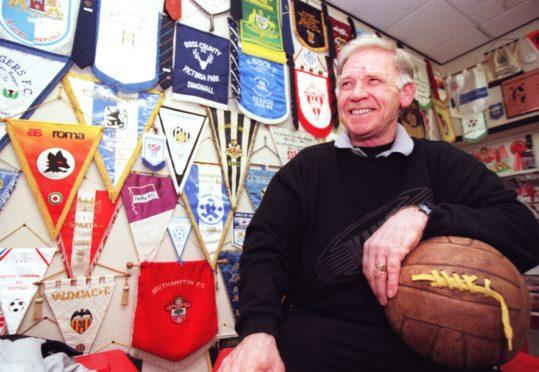 Aberdeen FC club legend Teddy Scott also played for Sunnybank JFC