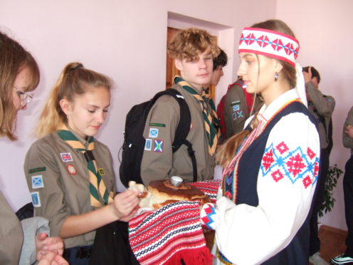 Some of the Young Scout Leaders