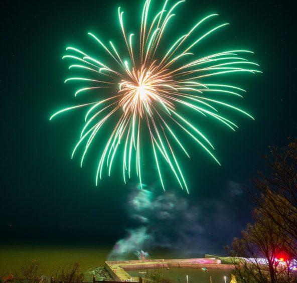 Portgordon Fireworks