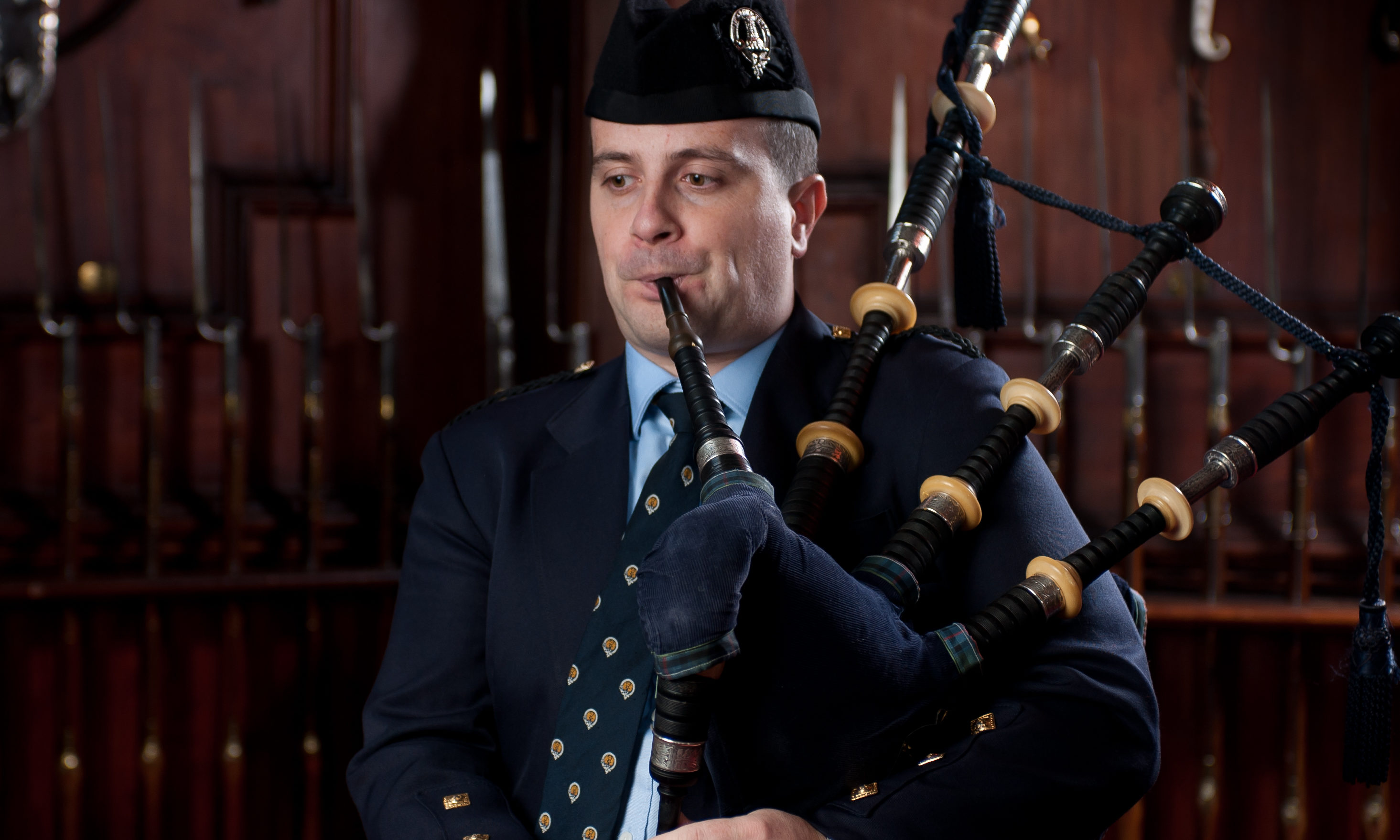 Finlay Johnston clinched victory at the 46th Glenfiddich Piping Championship