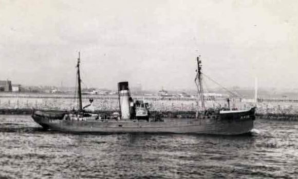 The ill-fated Aberdeen trawler George Robb, which sank in 1959.