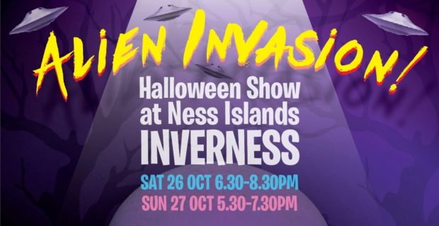 This year's Ness Islands Halloween Show will take on the Alien Invasion theme