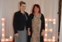 Lindsey Randall, Drumossie Hotel general manager (left) with prize winner Flora Macleod.