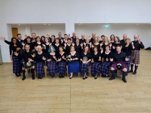 Members of Aberdeen Gaelic Choir