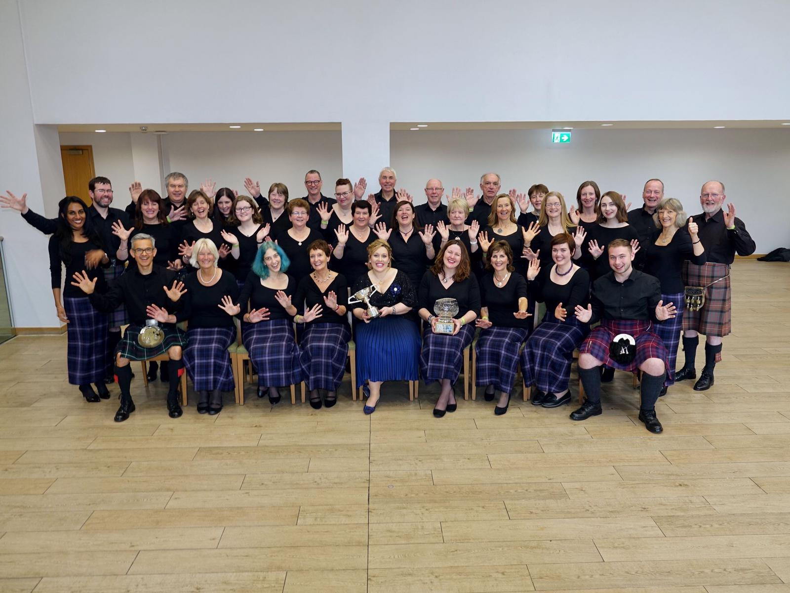 Members of Aberdeen Gaelic Choir