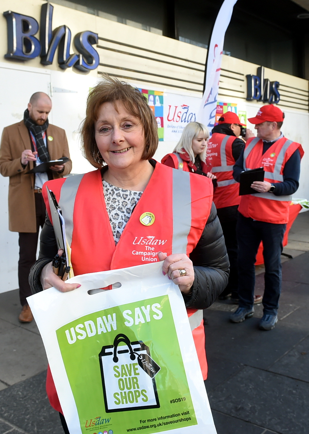 """USDAW north-east area organiser Kate Cumming says shopworkers face """"awful behaviour"""" all too often."""