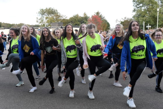 The Make It Happen group, is hoping to get momentum going to arrange an alternative event for Aberdeenshire pupils missing out on the Rock Challenge event that was supposed to take place next year.