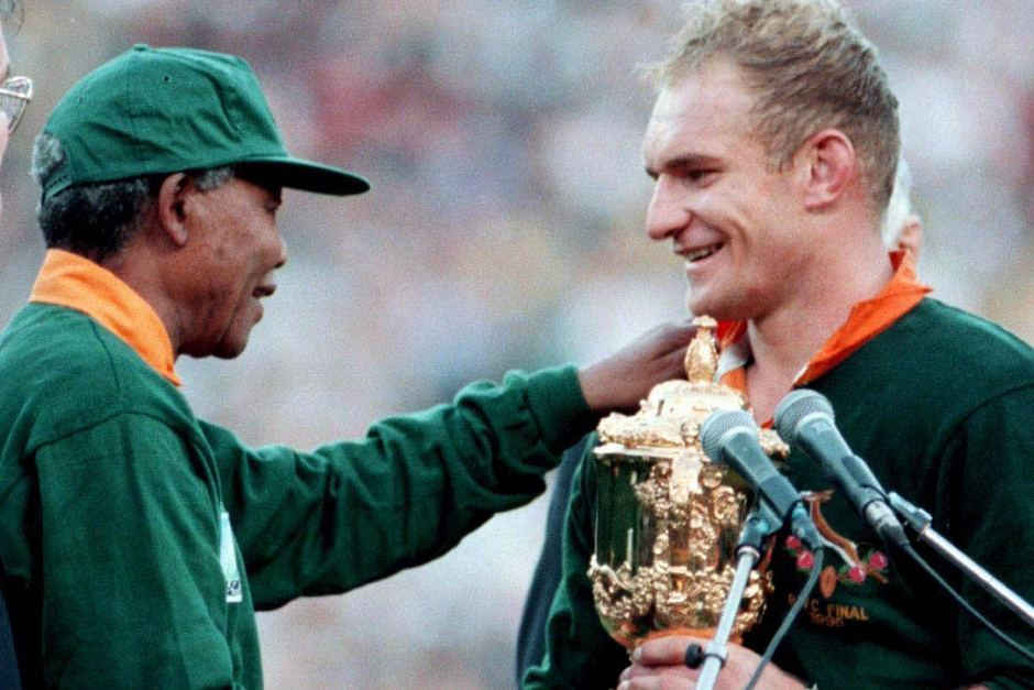 A moment of magic at the 1995 Rugby World Cup.