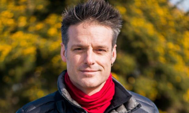TV naturalist Nick Baker
