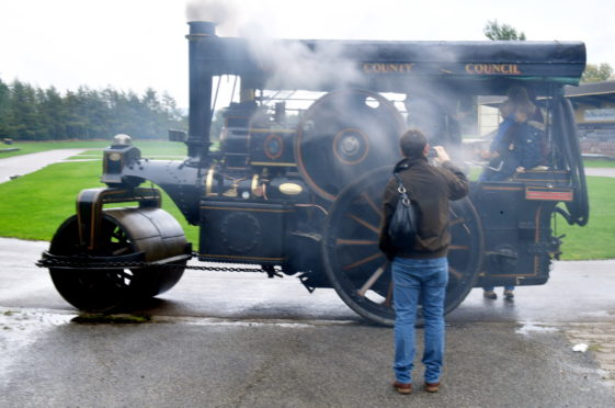Steam Engine day at Grampian Transport Museum Picture by Chris Sumner