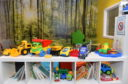 The children's area of the waiting room at CAMHS, Links unit, City Hospital, Urquhart Road, Aberdeen  Picture by DARRELL BENNS