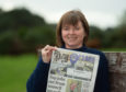 Competition winner Hazel Mitchell at her home in Moray.   Pictures by JASON HEDGES