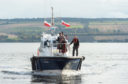 Port of Cromarty Firth took delivery of a new custom-built pilot boat – the Dalmore - in October. Picture by Jason Hedges