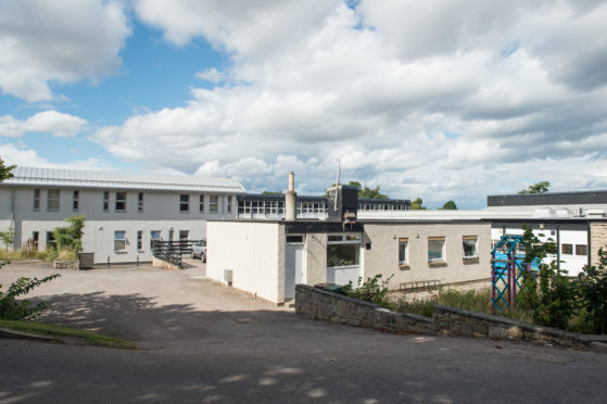 Forres Academy in Forres.