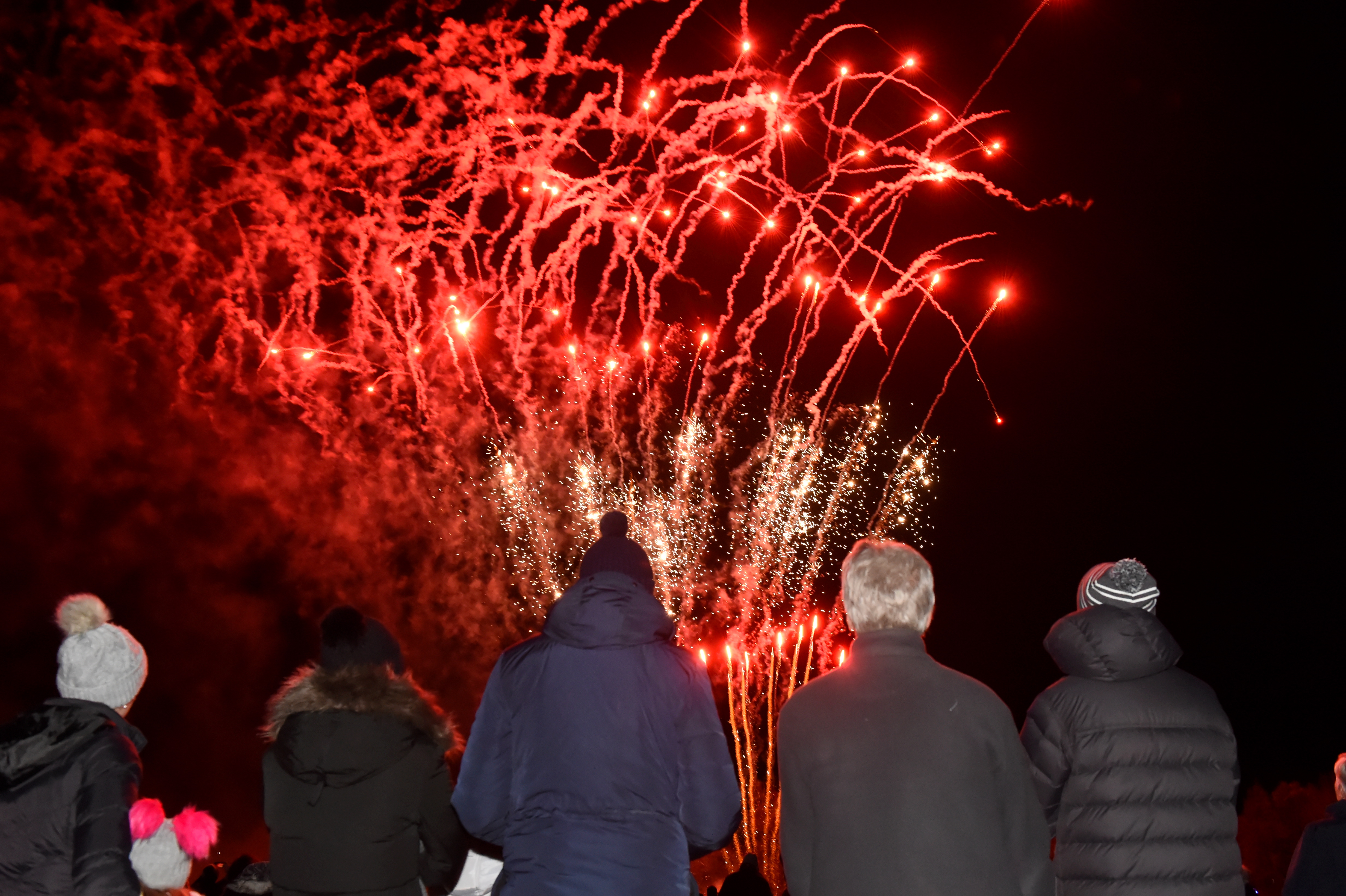 Ellon fireworks Display 2019, at Gordon Park, Ellon.  Picture by KENNY ELRICK