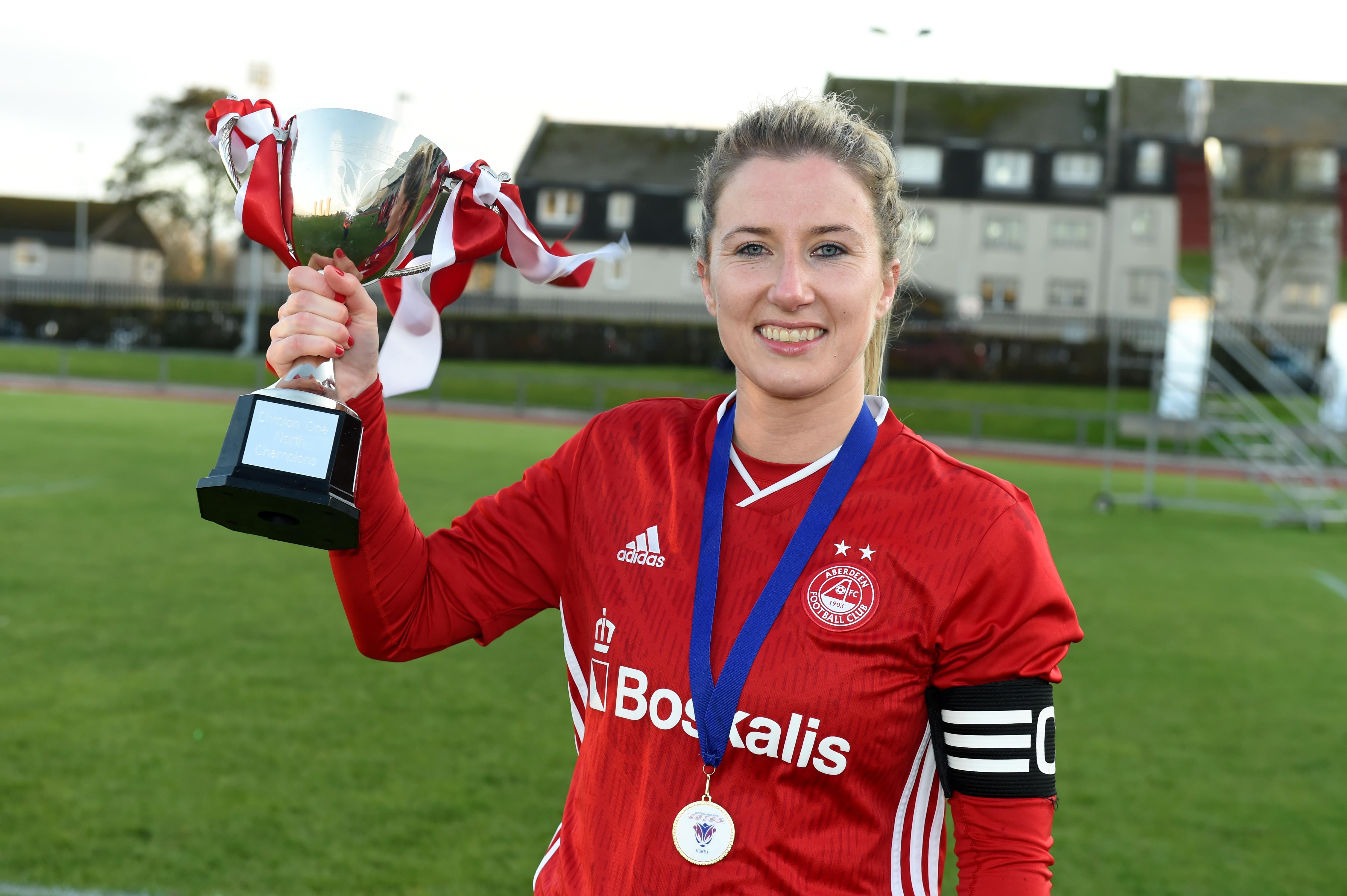 Aberdeen skipper Kelly Forrest.