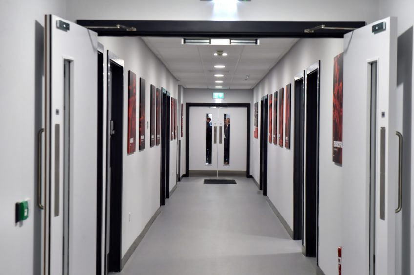 Inside Cormack Park at the new Dons Stadium, Kingsford.  Picture by KENNY ELRICK