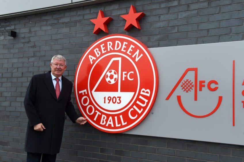 Sir Alex Ferguson.  Picture by KENNY ELRICK