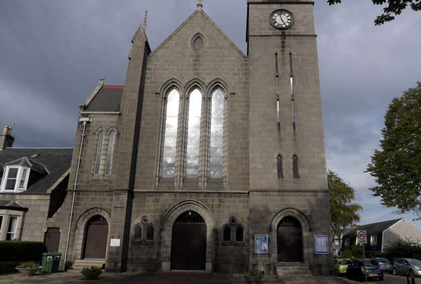 Holburn West Church, Ashley Park Drive.