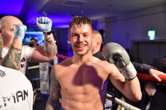 Unbeaten Aberdeen fighter Dean Sutherland.