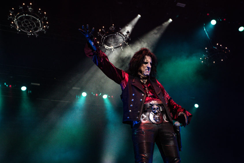 Alice Cooper at P&J Live