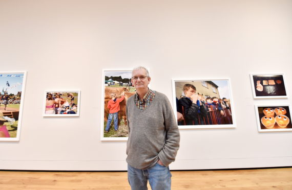 Martin Parr was commissioned by the Aberdeen Art Gallery for his exhibition Aberdeen at Leisure.     Picture by Scott Baxter    31/10/2019