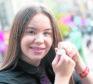 Jessica Hanvidge of Inverness Royal Academy, winner of the A Comunn Gaidhealach Silver Medal for 13-15 age group girls.