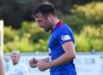 Brad Mckay signed for Caley Thistle in 2016.
